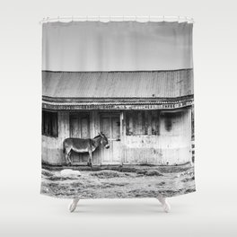 Lonely Donkey Shower Curtain