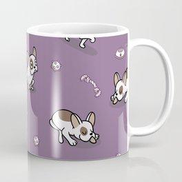 Sweet Frenchie Bulldog Puppies Pattern Coffee Mug