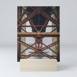 Golden Gate Backbone, San Francisco Mini Art Print