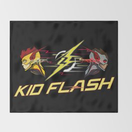 Kid Flash Throw Blanket