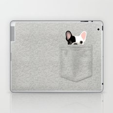 Pocket French Bulldog - Pied Laptop & iPad Skin