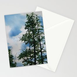 Larch trees Stationery Cards