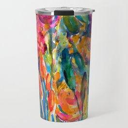 Mexican Bouquet Color Flowers Travel Mug
