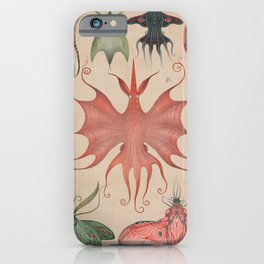 Cephalopodoptera Tab. V iPhone Case