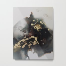 Freeform Metal Print