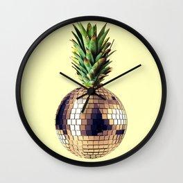 ananas party (pineapple) Wall Clock