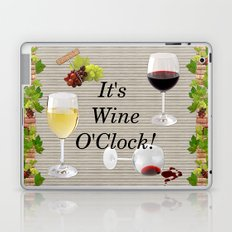 It's Wine O'Clock Laptop & iPad Skin