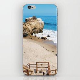 El Matador State Beach Stairs iPhone Skin