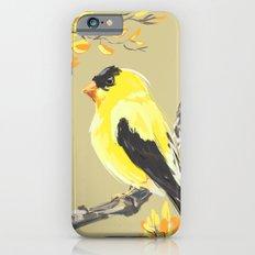 Yellow Finch Slim Case iPhone 6s