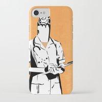 nurse iPhone & iPod Cases featuring Cigarette Nurse by Ben Talatzko