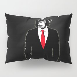 Domesticated Monkey Pillow Sham