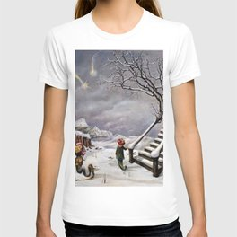 The Truth About Comets by Dorothea Tanning T-shirt