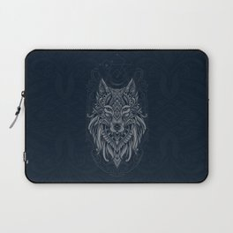 Wolf of North Laptop Sleeve