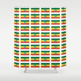 flag of Ethiopia 2-ኢትዮጵያ, የኢትዮጵያ ,Amharic,  Ethiopian, Addis Ababa. Shower Curtain