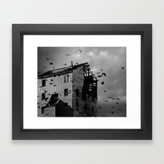 Ghosts Of Industry Framed Art Print