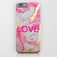 LOVE Abstract iPhone 6s Slim Case