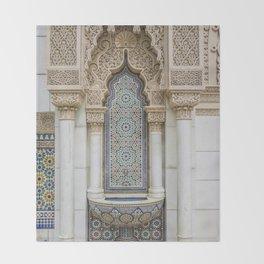 Moroccan Fountain Throw Blanket