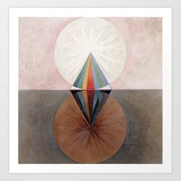 Hilma af Klint Group IX/SUW The Swan No. 12 Art Print