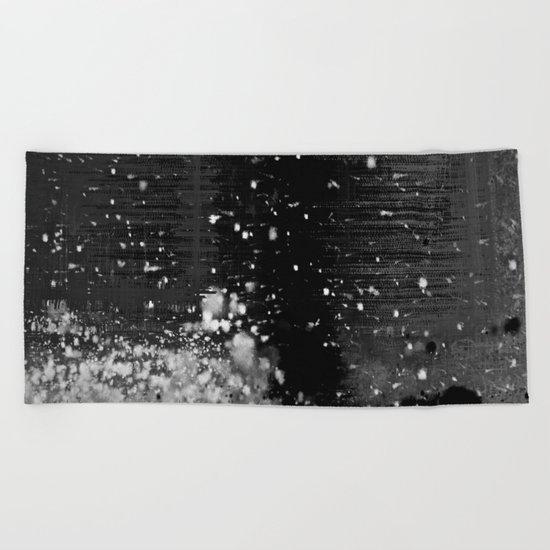 Snow Bank Beach Towel