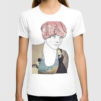 introvert T-shirts featuring introvert girl by Katharina Nachher