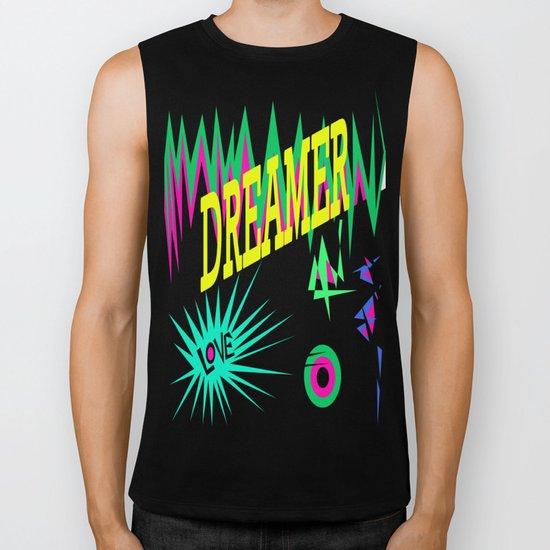 Keep Calm and Dream   Sweet Dreams my Love Biker Tank