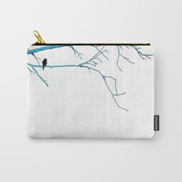 Blue Branches Carry-All Pouch