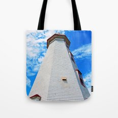 Lighthouse Reaches the Sky Tote Bag