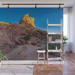 Colorful Sandstone, Valley of Fire - IIIa Wall Mural