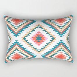 Aztec Rug 2 Rectangular Pillow