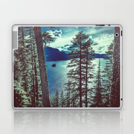 Crater Lake Vintage Summer Laptop & iPad Skin