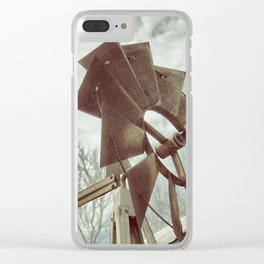 Directional Clear iPhone Case
