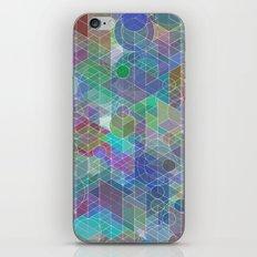Panelscape + circles - #2 society6 custom generation iPhone & iPod Skin