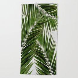 Palm Leaf III Beach Towel