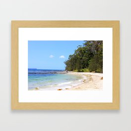 Huskisson, Jervis Bay NSW Framed Art Print