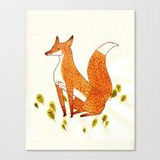 Noble Fox Canvas Print