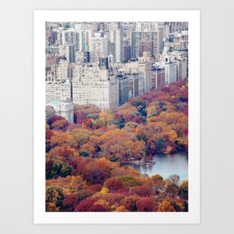 Autumn in New York - Travel Photography Art Print