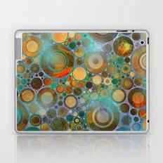 Abstract Circles Pattern Laptop & iPad Skin
