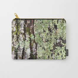 Tree Bark Lichen Carry-All Pouch