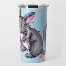 Silver Puffball Travel Mug