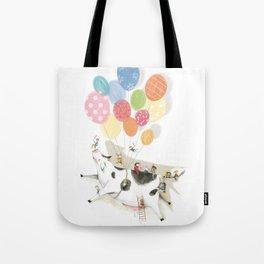 Balloooons Tote Bag