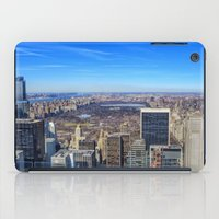 central park iPad Cases featuring Central Park by Christine Workman