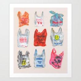 Thanks for Shopping Pt. 2 Art Print