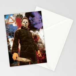 """Michael Myers Halloween """"The Curse of Thorne"""" Stationery Cards"""