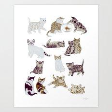 Little Kittens Art Print