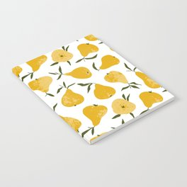 Yellow pear Notebook