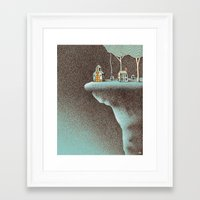 community Framed Art Prints featuring The Secluded Community by N / A