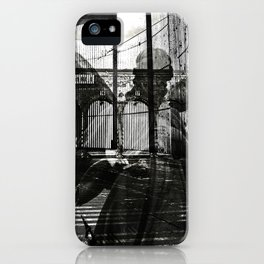 The unexpected arrival of the angels iPhone Case