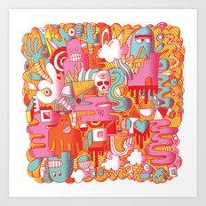 ABSTRACT 0017 Art Print