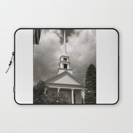 Here is the Church, Here is the Steeple Laptop Sleeve