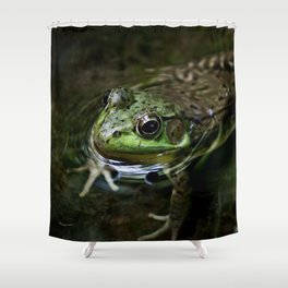 Frog Floating Shower Curtain